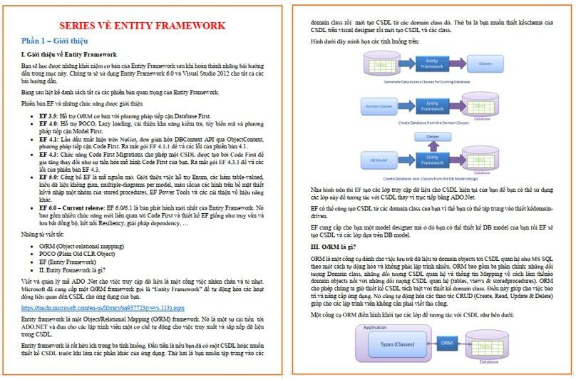 Tài liệu Entity Framework tiếng Việt - ViecLamVui