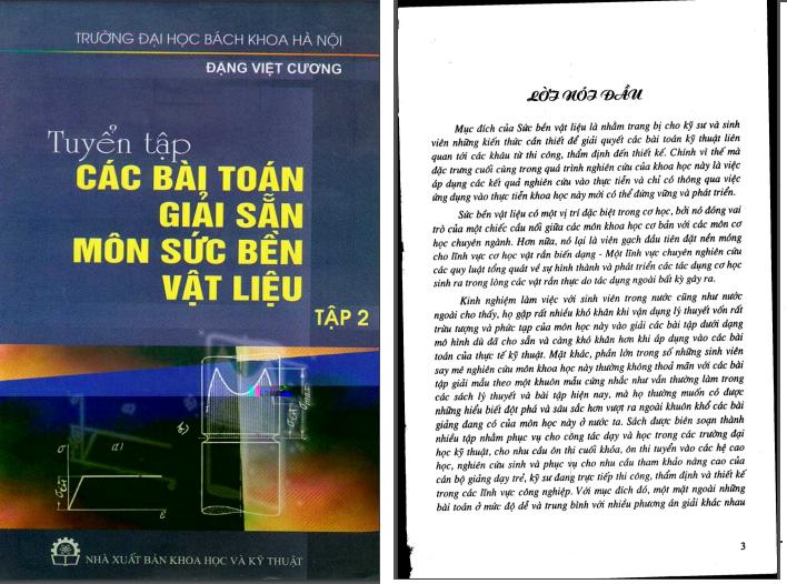 Hướng dẫn giải bài tập sức bền vật liệu 2 PDF