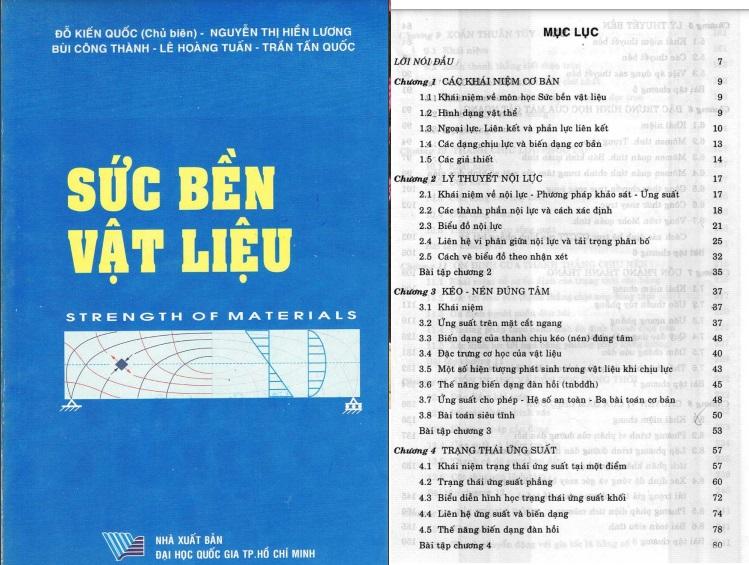 Giáo trình sức bền vật liệu Đỗ Kiến Quốc PDF