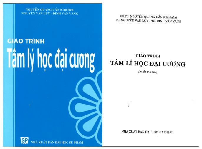 Tâm lý học đại cương Nguyễn Quang Uẩn - ViecLamVui