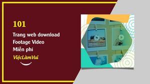 101 trang web download video footage miễn phí bản quyền