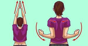 Chỉ cần 5 phút với 5 bài tập, cơn đau cổ, đau vai gáy của bạn sẽ thuyên giảm ngay lập tức