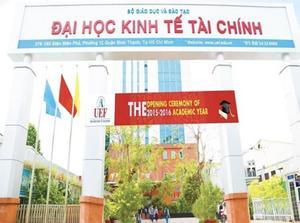 Đại học Kinh tế - Tài chính thành phố Hồ Chí Minh (UEF) - Điểm chuẩn, học phí, ngành đào tạo
