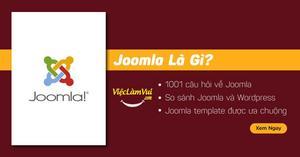 Joomla là gì? 1001 câu hỏi thương gặp về CMS mã nguồn mở miễn phí Joomla
