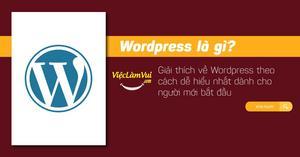 Wordpress là gì? 1001 câu hỏi thường gặp về CMS phổ biến nhất thế giới