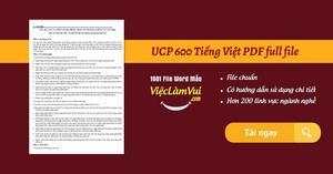 UCP 600 Tiếng Việt PDF full file