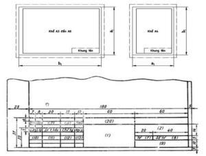 Mẫu khung tên bản vẽ Autocad, khung tên bản vẽ A4, A3, A2, A1, A0 chuẩn nhất