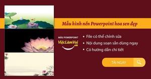 99+ Mẫu hình nền Powerpoint hoa sen đẹp