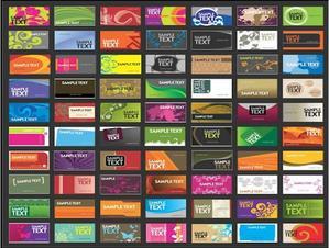 Download mẫu card visit đẹp file Corel