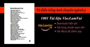 Tiếng Anh chuyên ngành Y PDF