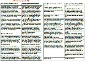 200+ Truyện tiếng Anh song ngữ ngắn, hay PDF
