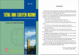 Giáo trình tiếng Anh chuyên ngành Dược PDF