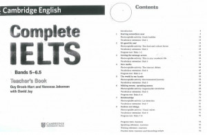 Complete IELTS Bands 5-6.5 Teacher's Book PDF