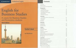 English For Business Studies Teacher's Book PDF