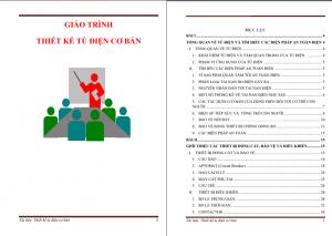 Giáo trình thiết kế tủ điện PDF