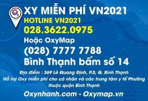Oxy Nhanh, Oxy Map, ATM Oxy, Bình Oxy miễn phí cho người bệnh TPHCM