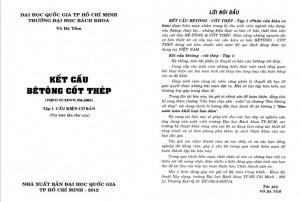 Giáo trình Bê tông cốt thép 1 Võ Bá Tầm PDF