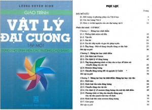 Giáo trình Vật lý đại cương 1 - Lương Duyên Bình PDF