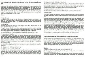 Bài tập tình huống môn luật sở hữu trí tuệ PDF