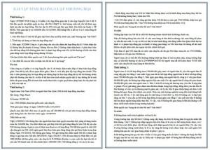 Bài tập tình huống luật thương mại PDF