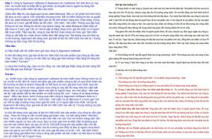 Bài tập tình huống marketing căn bản PDF