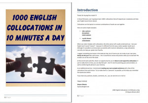 1000 English Collocations In 10 Minutes A Day PDF Free Download