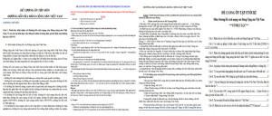 Đề cương ôn tập đường lối cách mạng của Đảng Cộng sản Việt Nam PDF