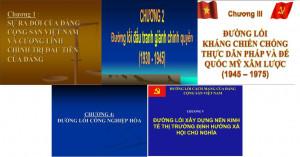 Slide bài giảng đường lối cách mạng của Đảng Cộng sản Việt Nam