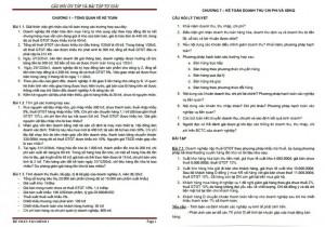 Bài tập Kế toán tài chính 1 PDF