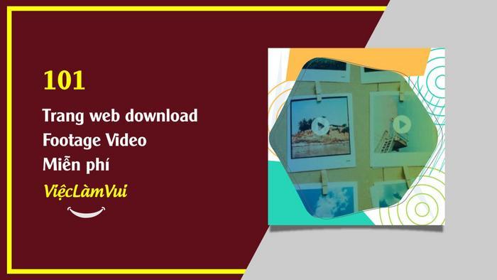 101 trang web footage miễn phí ViecLamVui