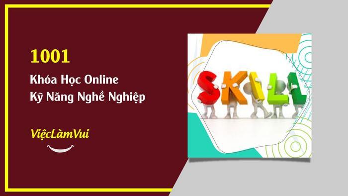 1001 khóa học online kỹ năng nghề nghiệp