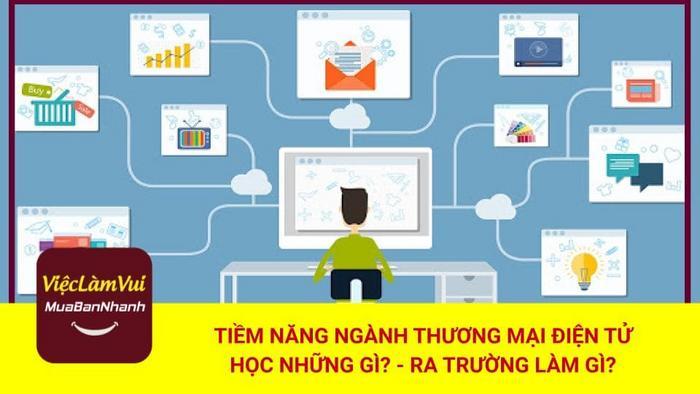 Tiềm năng ngành thương mại điện tử - ViecLamVui