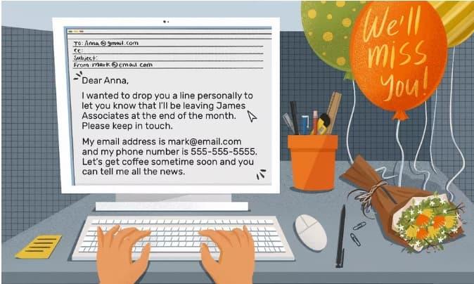 Mail xin nghỉ việc - Hướng dẫn nhanh ViecLamVui