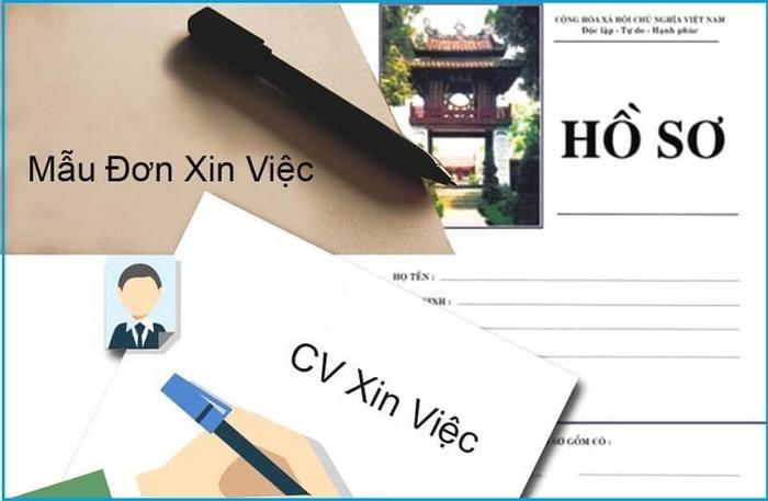 Mẫu hồ sơ xin việc - ViecLamVui